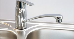 Clean Stainless-Steel Sinks