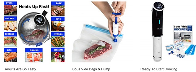 Yeti Sous-Vide Immersion Cooker
