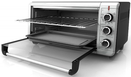 BLACK+DECKER extra wide countertop oven