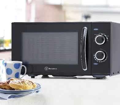Westinghouse Compact Countertop Rotary Microwave