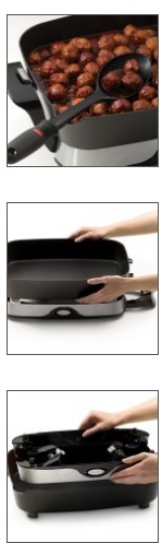 The electric skillet pan